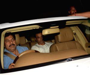 Bobby Deol seen at Salman Khan's residence
