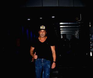 Bobby Deol seen at Bandra