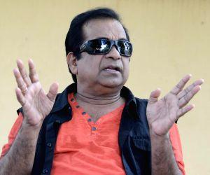 Brahmanandam talking about telugu movie Alludu Seenu