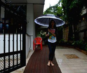 Ananya Pandey seen in Bandra