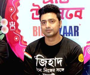 "Kabir"" - promotion - Dev, Rukmini Maitra"