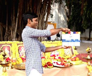 "Mahurat of film ""Maari 2"" - Dhanush"