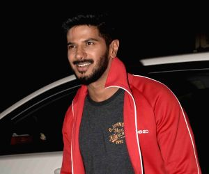 Dulquer Salmaan seen at Juhu