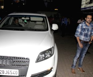 Emraan Hashmi spotted with his Audi Q7 car