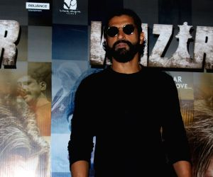 Screening of song Tere Bin from film Wazir