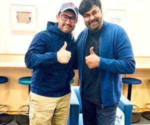 Kyoto (Japan): Aamir runs into Chiranjeevi, calls him inspiration