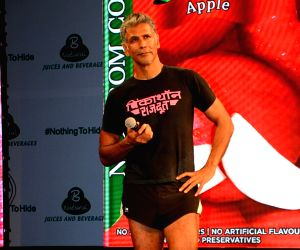 Empowerment is a gift you give yourself: Milind Soman at Pinkathon