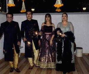 Govinda celebrates Diwali with his family