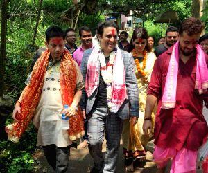 Govinda visits Kamakhya Temple