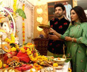 Gurmeet Choudhury celebrates Ganesh Chaturthi