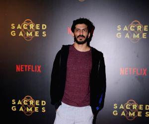 """Special screening of """"Sacred Games"""" - Harshvardhan Kapoor"""