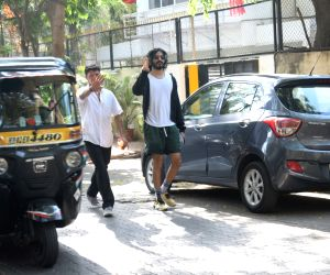 Harshvardhan Kapoor seen at Juhu