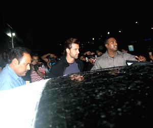 Hrithik spotted at a theater