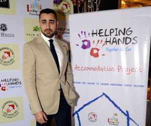 Twinkle and Imran attend Helping Hands Exhibition cum fundraiser event