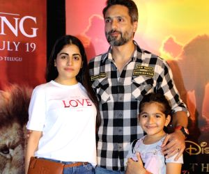 "The Lion King"" special screening - Sanaya Irani, Mohit Sehgal, Ridhi Dogra, Iqbal Khan, Jay Bhanushal, Sneha Chhabra"