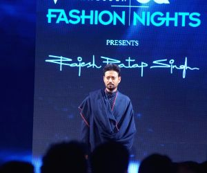 Actor Irrfan Khan at the GQ Fashion Nights 2017 in Mumbai on Nov 12, 2017.