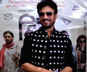 "Irrfan Khan promotes ""Hindi Medium"