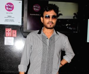 Irrfan Khan spotted during Promotion of Film Hindi Medium