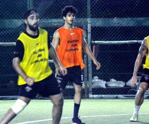 Ishaan Khatter during a football match