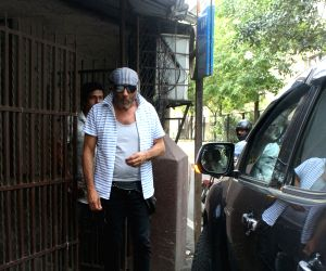 Actor Jackie Shroff seen at a Mumbai studio, on June 13, 2018.