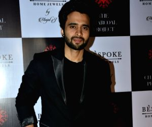 Jackky Bhagnani at a store launch