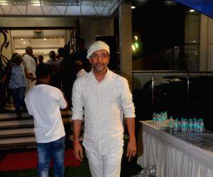 Kundan Shah prayer meet - Javed Jaffrey