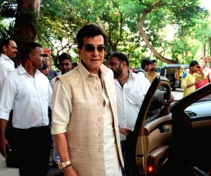 Jeetendra during Ganpati Celebrations at his residence