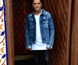 Jimmy Sheirgill during a media interaction