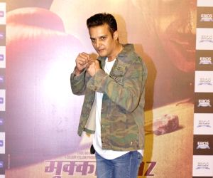 "Trailer launch of film ""Mukkabaaz"" - Jimmy Shergill"