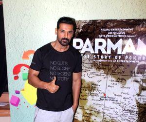 """Parmanu - The Story of Pokhran"""" - promotion"""