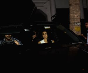 John Abraham seen at Juhu