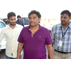 Johnny Lever at Bhopal Airport