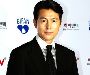 Actor Jung Woo-sung at BIFAN opening