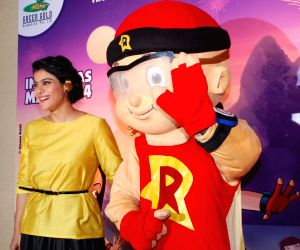 Press conference of animation film Mighty Raju Rio Calling