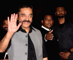 Kamal Haasan seen at Taj Colaba