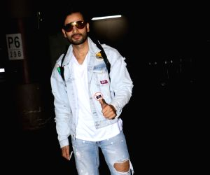 Karan Tacker spotted at airport
