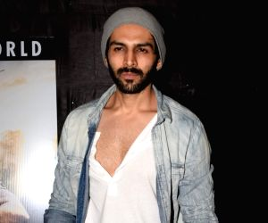 "Special screening of film ""Jumanji: Welcome to the Jungle"" - Kartik Aaryan"