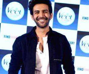 Kartik Aaryan launches a product