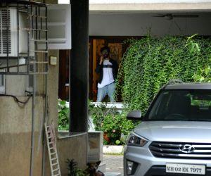 Kartik Aaryan seen at Mumbai's Bandra