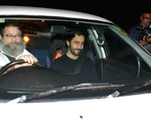 Saif Ali Khan's birthday celebration - Kunal Kapoor and Zahan Prithviraj Kapoor