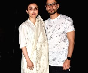 "Special screening of film ""An Insignificant Man"" - Kunal Khemu and Soha Ali Khan"