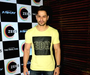 """Actor Kunal Khemu at the success party of his webshow """"Abhay"""" by Zee5, in Mumbai, on May 30, 2019."""