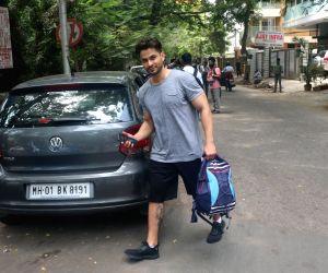 Actor Kunal Khemu seen outside a gym,in Mumbai's Bandra, on May 10, 2019.