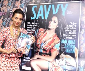 Malaika Arora Khan unveils latest cover of the Savvy magazine
