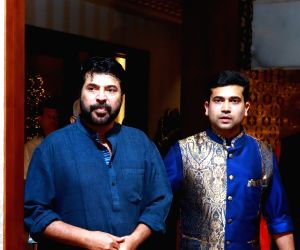 Navratri celebration at Kalyan Jeweller family-Mammootty and Ramesh Kalyanaraman