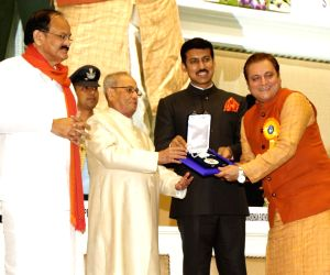 : New Delhi: New Delhi: 64th National Film Awards Function - Manoj Joshi