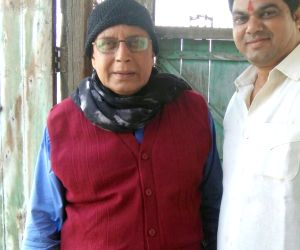 """Shooting of film """"Genius"""" - Mithun Chakraborty"""