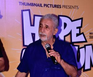 "Trailer launch of film ""Hope Aur Hum"" - Naseeruddin Shah"