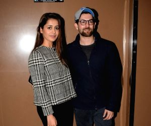 "Special screening of film ""Padmaavat"" -  Neil Nitin Mukesh and Rukmini Sahay"