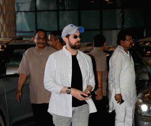 Actor Neil Nitin Mukesh arrives at the prayer meet organised for late producer Raj Kumar Barjatya in Mumbai, on Feb 23, 2019.